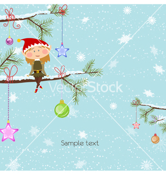 Free christmas background vector - бесплатный vector #255099