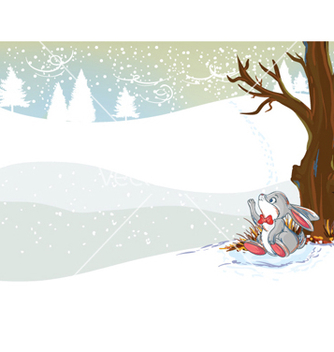 Free winter background vector - vector #255149 gratis