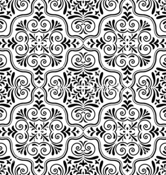 Free arabesque seamless pattern vector - Free vector #255189