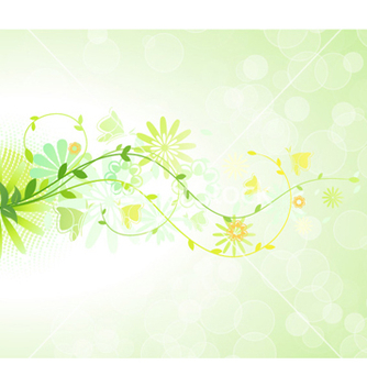 Free spring floral background vector - Kostenloses vector #255329