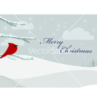 Free christmas greeting card vector - Kostenloses vector #255399