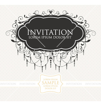 Free vintage label vector - бесплатный vector #255499
