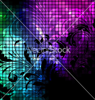 Free abstract floral background vector - Kostenloses vector #255539