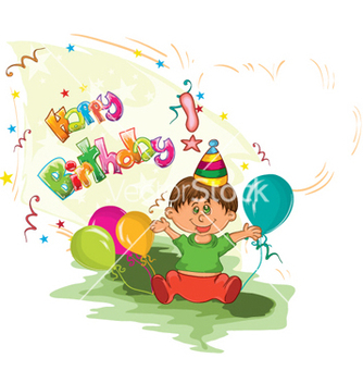 Free kids birthday party vector - Free vector #255889