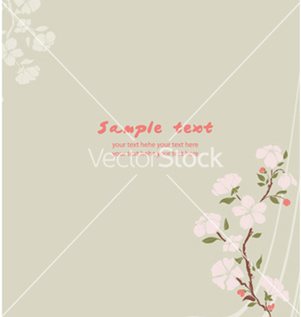 Free spring floral background vector - Kostenloses vector #255989