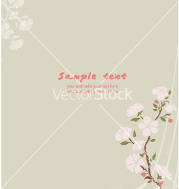 Enciclopédia Primavera floral background vector - Free vector #255989