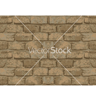 Free old brick wall pattern vector - Free vector #255999