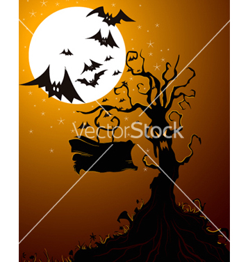 Free halloween background vector - Free vector #256079