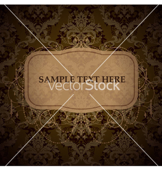 Free vintage label vector - бесплатный vector #256279