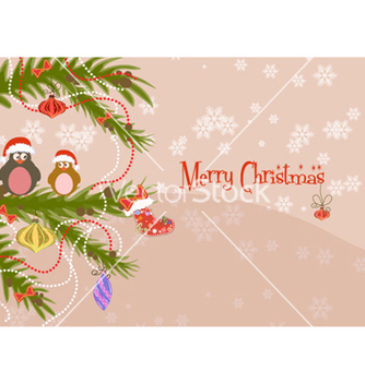 Free winter background vector - Kostenloses vector #256389