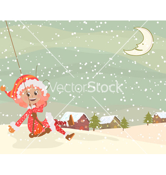 Free christmas greeting card vector - Free vector #256619