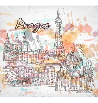 Free prague doodles vector - бесплатный vector #256689