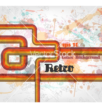 Free grunge retro background vector - бесплатный vector #256699