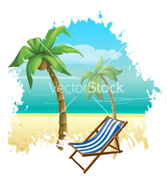 Free summer background vector - Free vector #256879