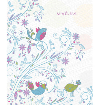 Free spring background vector - Kostenloses vector #256939