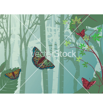 Free abstract butterflies vector - Free vector #257189