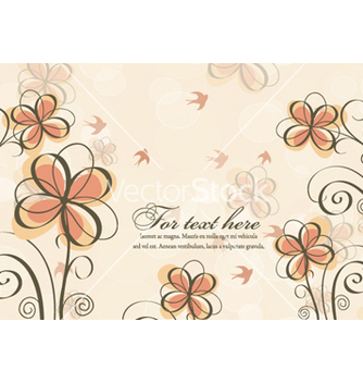 Free spring floral background vector - Kostenloses vector #257389
