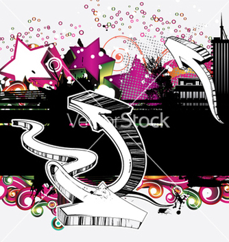 Free urban background vector - Kostenloses vector #257539