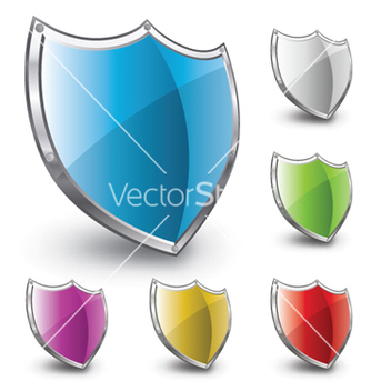 Free shield set vector - Free vector #257589