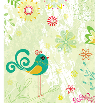 Free vintage floral background vector - vector #257609 gratis