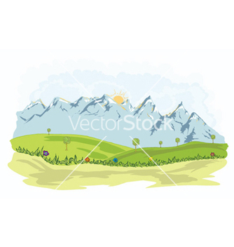 Free cartoon background vector - Kostenloses vector #257749
