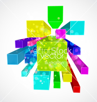 Free colorful abstract background vector - бесплатный vector #257939