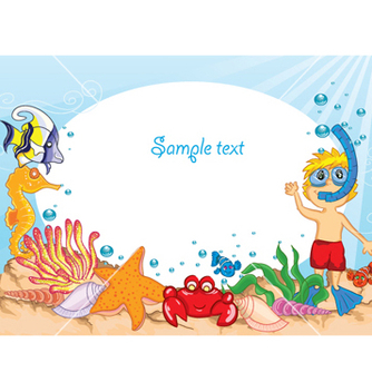 Free cartoon summer background vector - vector #257979 gratis