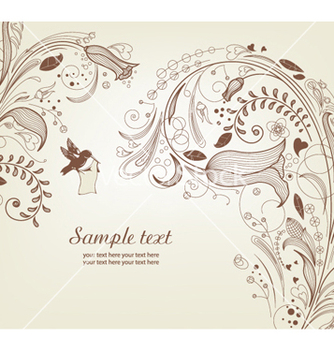 Free spring floral background vector - Kostenloses vector #258139