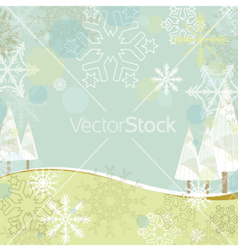 Free winter background vector - vector gratuit #258299