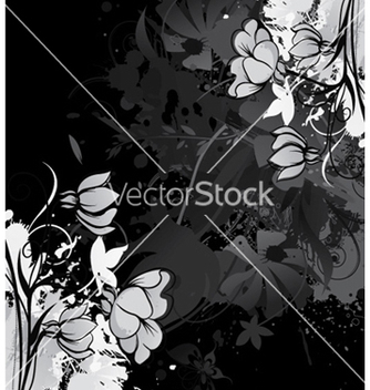 Free vintage floral background vector - Free vector #258319