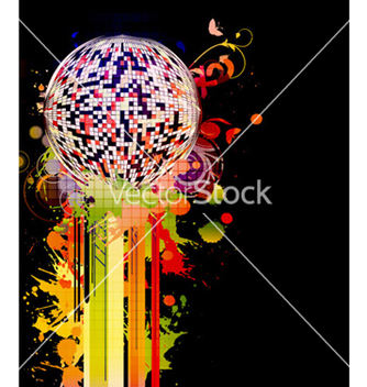 Free colorful concert poster vector - Free vector #258579