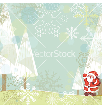 Free winter background vector - Free vector #258679