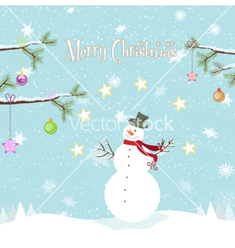 Free christmas background vector - Kostenloses vector #258689