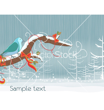 Free christmas background vector - Free vector #258789