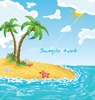 Free summer background vector - Kostenloses vector #258879