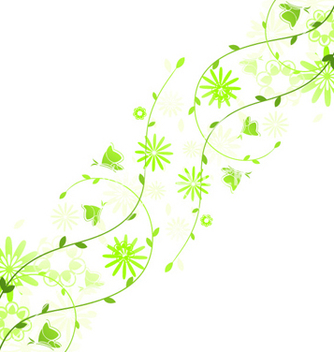 Free spring floral background vector - Free vector #259079
