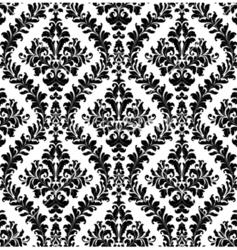 Free damask seamless pattern vector - vector gratuit #259179
