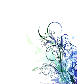 Free colorful floral background vector - бесплатный vector #259319