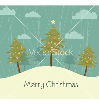 Free christmas background vector - бесплатный vector #259989