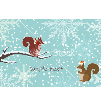 Free christmas greeting card vector - Kostenloses vector #260069