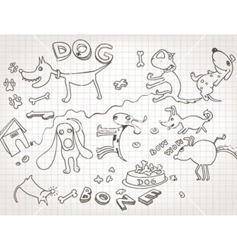Free funny hand drawn doodles vector - Free vector #260539