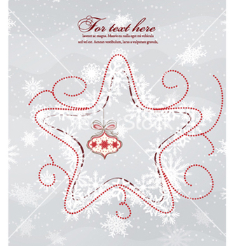 Free christmas background vector - Kostenloses vector #260549