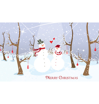 Free winter background vector - Kostenloses vector #260699