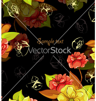 Free spring colorful floral background vector - Free vector #260859