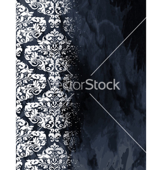Free vintage damask background vector - Free vector #261089
