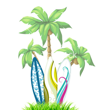 Free summer background vector - vector #261209 gratis