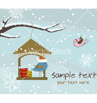Free christmas greeting card vector - vector #261649 gratis