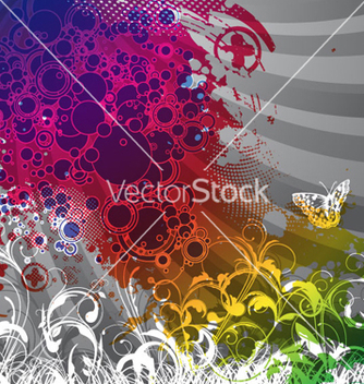Free colorful abstract background vector - бесплатный vector #261659
