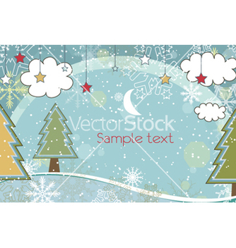 Free winter background vector - Kostenloses vector #261779