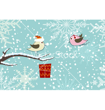 Free christmas greeting card vector - Kostenloses vector #261829